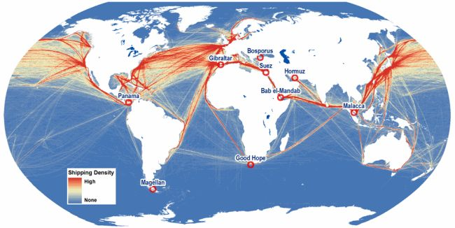 maritime routes