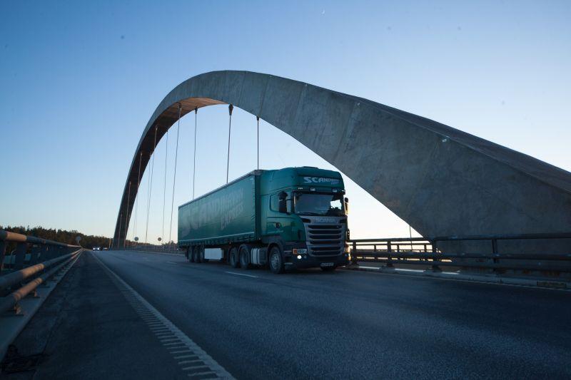 Scandinavian Express truck