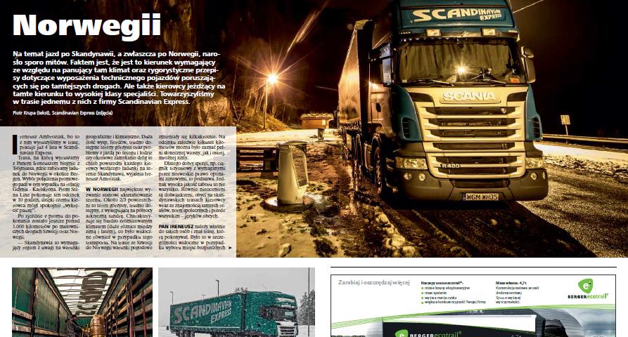 scandinavian Reportaż z trasy w Trailer Magazine