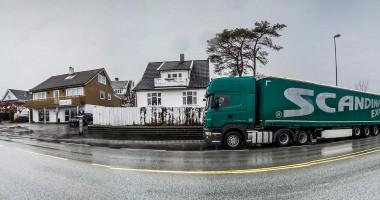 Na zdjęciu: Przedmieścia jednego z miast w środkowej Szwecji.