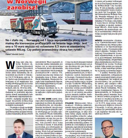 scandinavian Trailer Magazine z naszym komentarzem