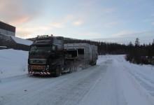Niestandardowy transport zimą