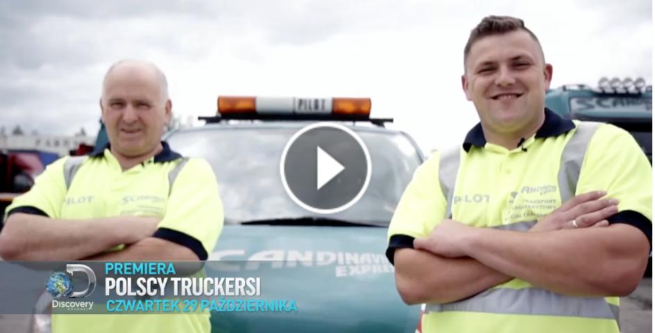 scandinavian Polscy Truckersi z naszym udziałem już 29 października na antenie Discovery Channel