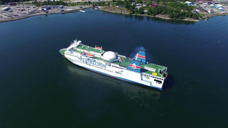 Przeprawy promowe to główne korytarze transportowe do Skandynawii
