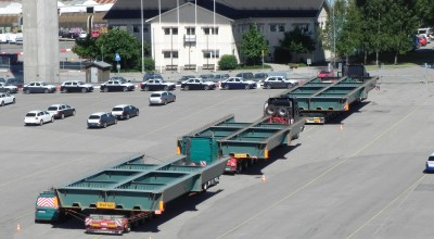7,5 m wide OSL load in Sweden