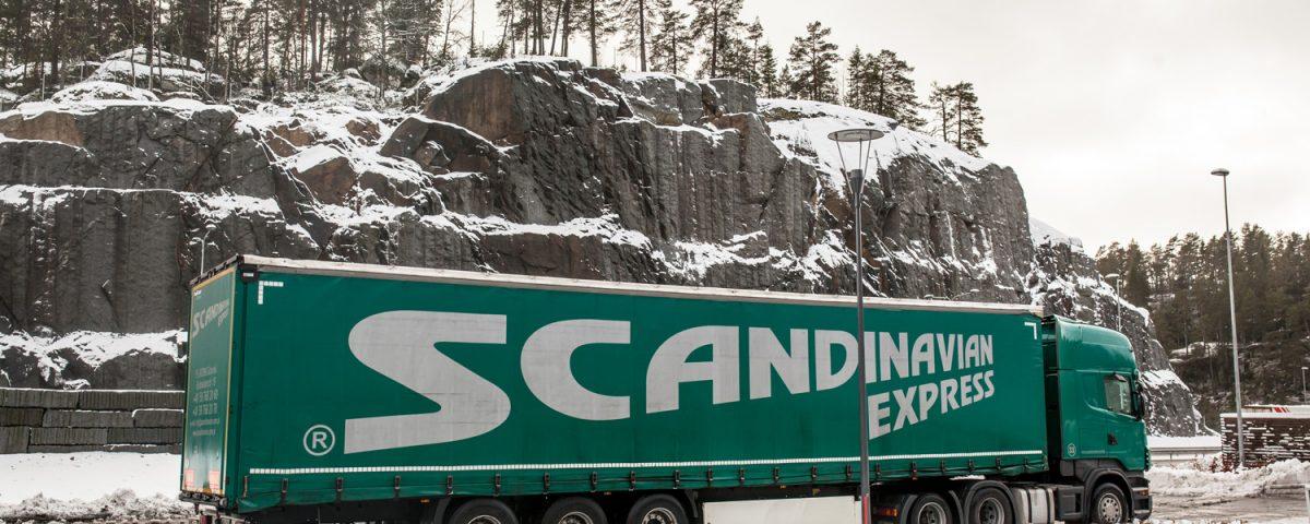 scandinavian Scandinavian Express during winter