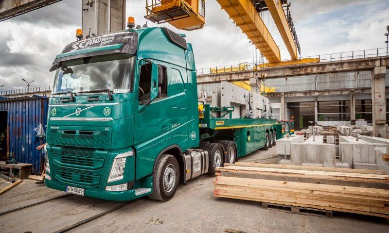 scandinavian Logistyka prefabrykatów betonowych