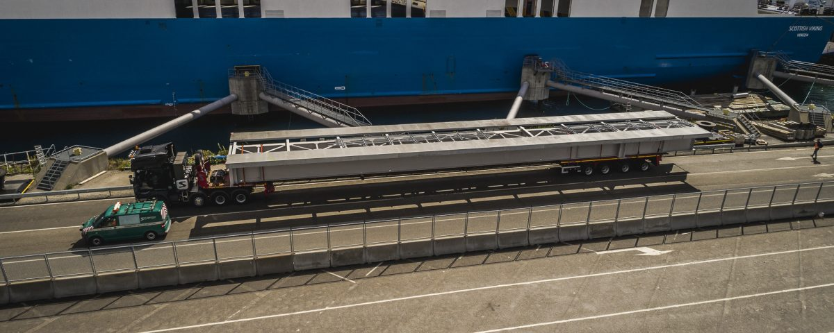 scandinavian Transport mostu kolejowego do Sztokholmu