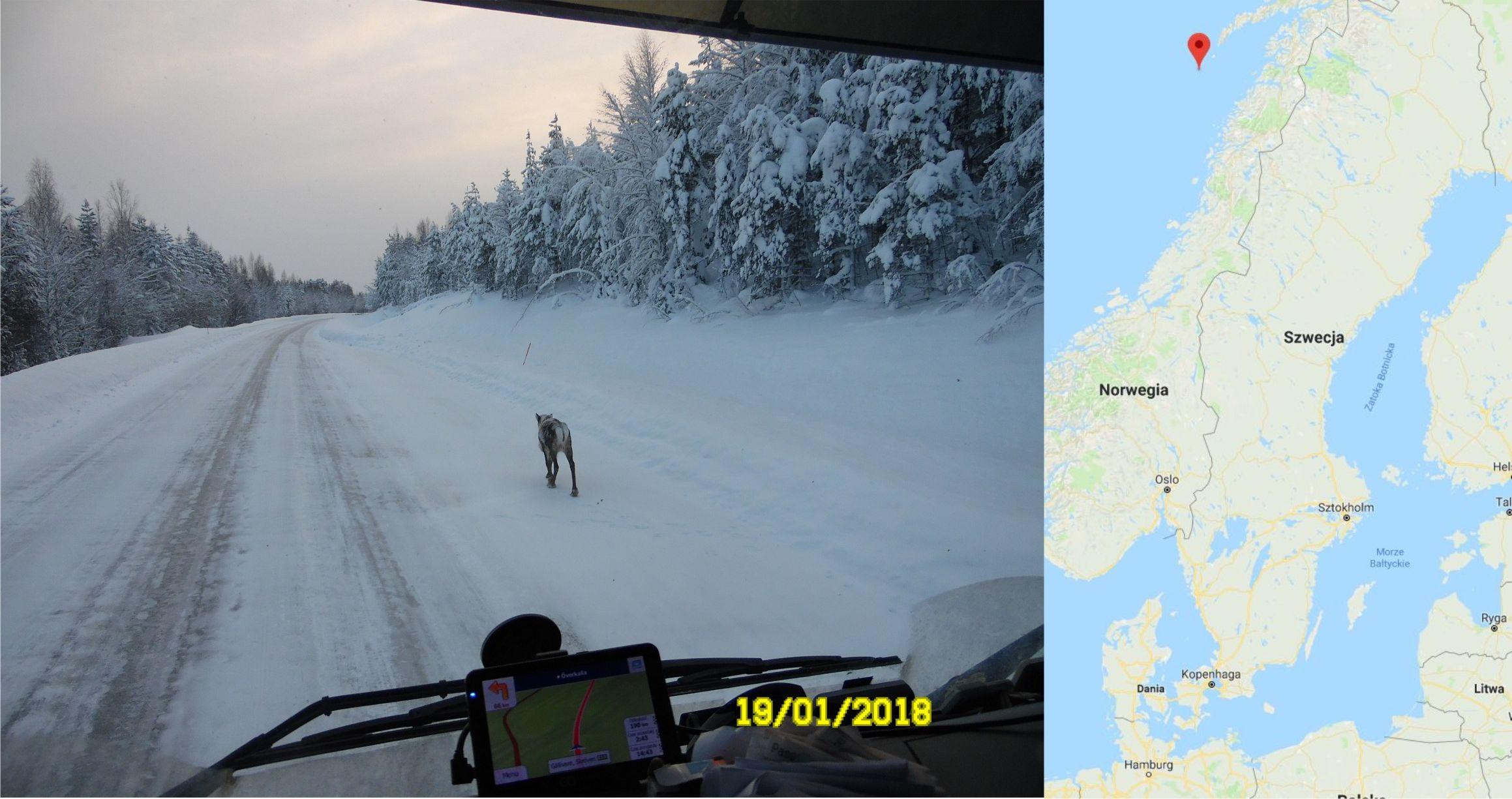 Dostawa na Rost, Norwegia
